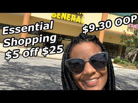 Dollar General $5 Off $25 | SATURDAY 4/11/20 ESSENTIAL SHOPPING ❤️