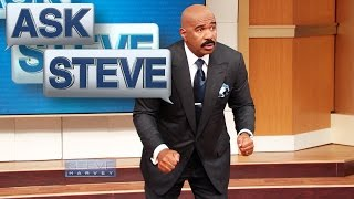 Ask Steve: Cash me outside! || STEVE HARVEY