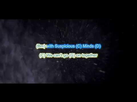 Suspicious Minds By Elvis Presley Play Along With Scrolling Guitar