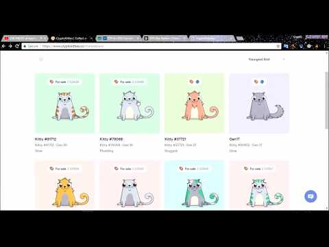 ✅How to Buy cryptokitties guide . Lowest Gas price.