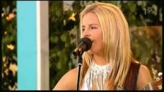 Lisa Miskovsky A Brand New Day Live Allsång På Skansen 2004