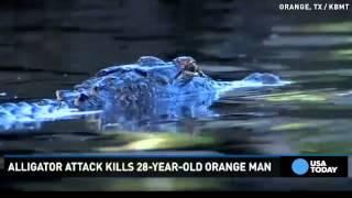 Alligator kills man taking late-night swim in Texas