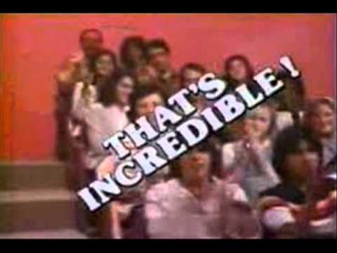 THAT'S INCREDIBLE (1980-84) THEME (no audience noise)