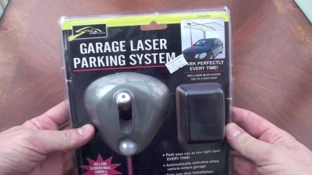 Garage Laser Parking System - A look at a cheap laser parking assistant from Dealextreme.