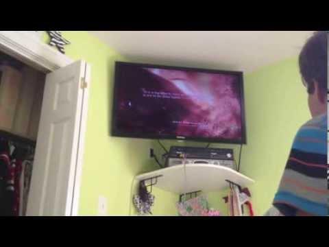 Wii RAGE Kid Breaks Wii