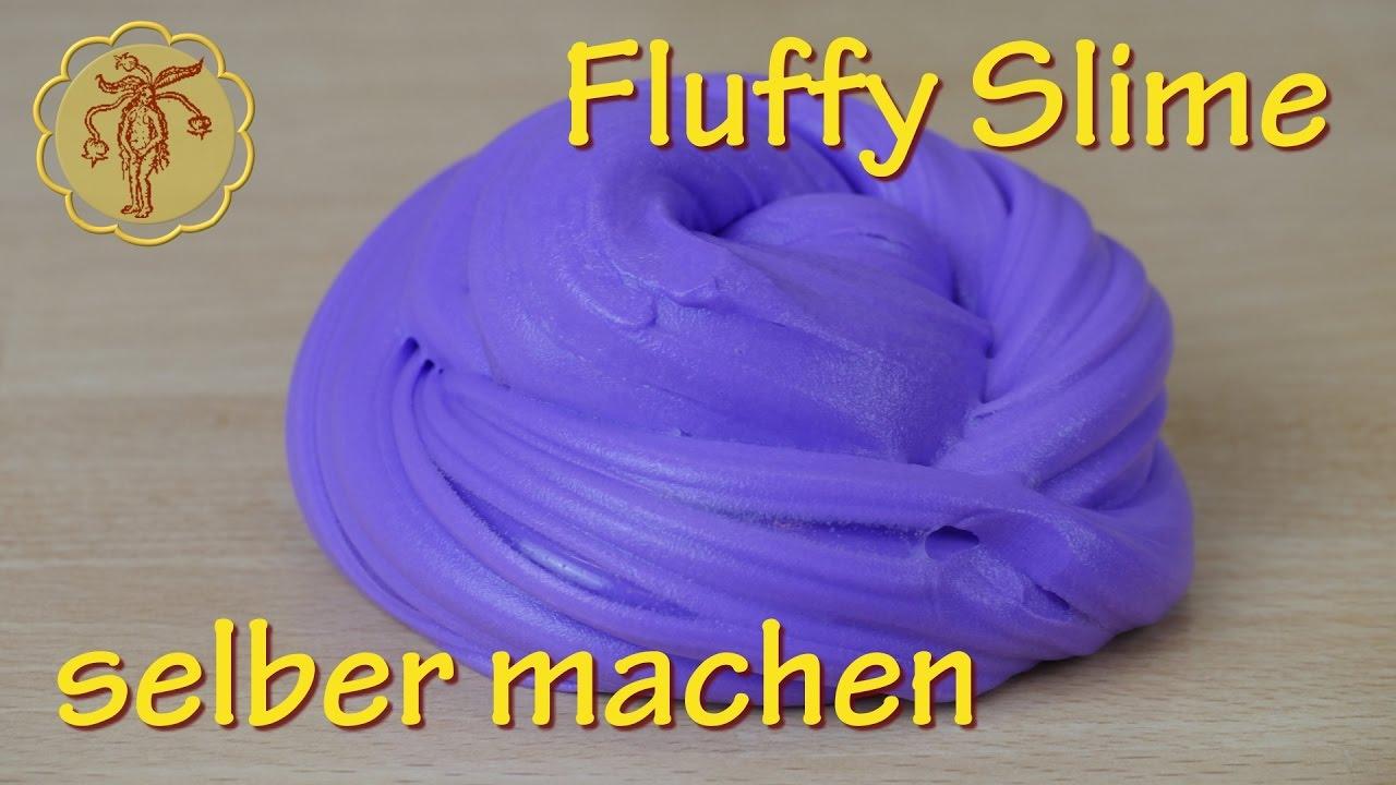Fluffy-Slime mit Waschmittel - ohne Boraxpulver und ohne