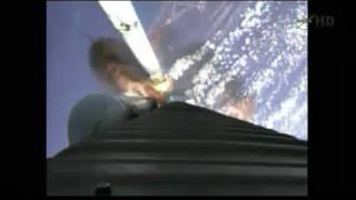 Liftoff - Juno spacecraft on it