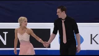 Короткая программа немецких фигуристов Алены Савченко и Бруно Массо на чемпионате мира 2017 года