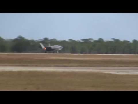 F-35 Take Off at Eglin Air Force Base