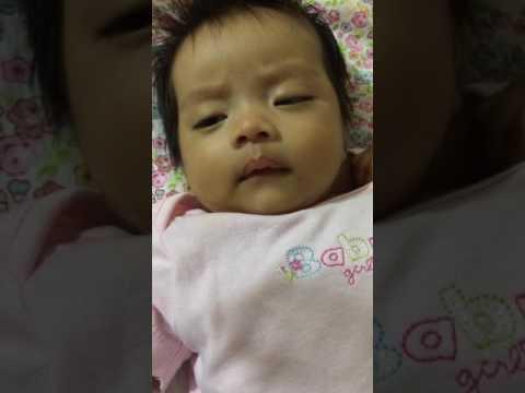Sleepy Baby Yanna