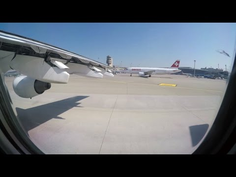 ✈ SWISS BAe Avro RJ100 Takeoff From Zürich Airport (ZRH) ✈