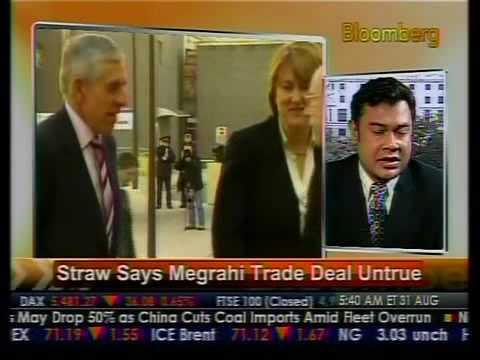 Straw Says Megrahi Trade Deal Untrue - Bloomberg