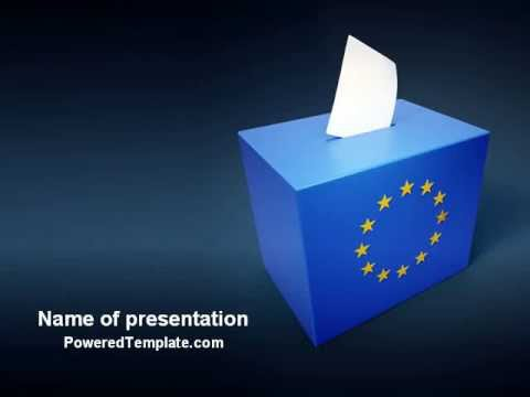 Free european union elections powerpoint template by poweredtemplate free european union elections powerpoint template by poweredtemplate toneelgroepblik Choice Image