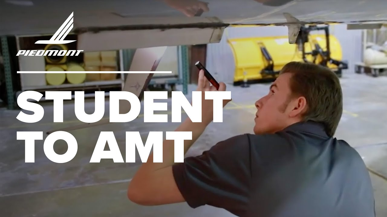 How I Made The Transition From College Student To Aircraft Maintenance Technician
