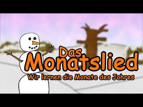 Monate Lied deutsch - Jahreszeiten lernen im Zeitraffer |