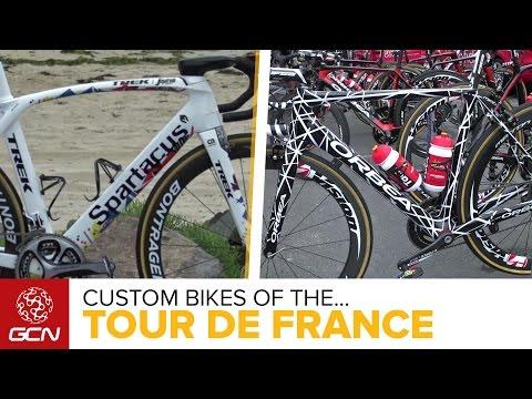 Custom, New & Secret Bikes At The Tour De France 2016