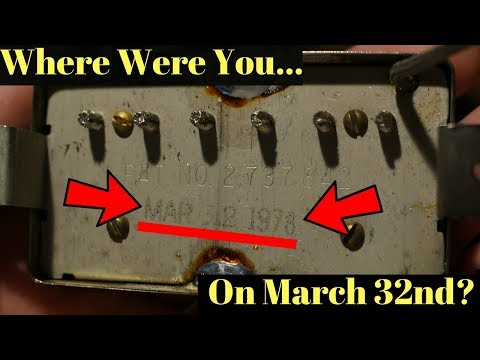 Gibson Factory Error... or Well-Played Prank? 1978 Gibson TTOP Bridge Pickup Demo