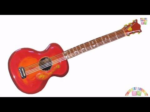 guitar musical instruments nursery rhymes tv music for kids youtube. Black Bedroom Furniture Sets. Home Design Ideas