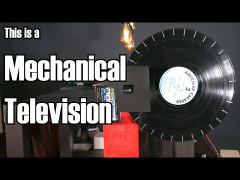 Mechanical Television: Incredibly simple, yet entirely bonke