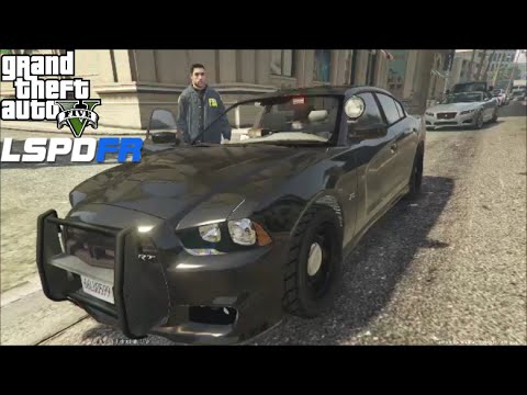 GTA 5 LSPDFR Police Mod Day 24 | FBI/FIB Patrol | Shoot Outs & Catching Wanted Felons
