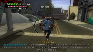 Tony Hawk's American Wasteland (PS2 Gameplay)