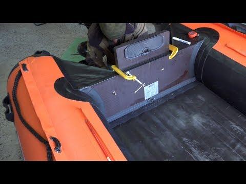 видео: Установка и настройка  водомета на лодку Солар 420 Стрела