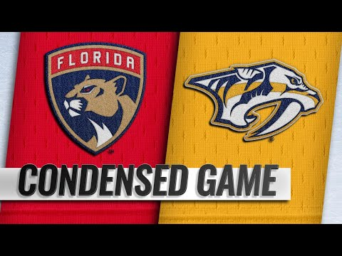 01/19/19 Condensed Game: Panthers @ Predators