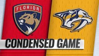 01/19/19 Condensed Game: Panthers @ Predators