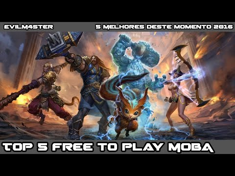 Top 5 F2P MOBA ( Free to Play Multiplayer Online Battle Arena) 🎮 😎