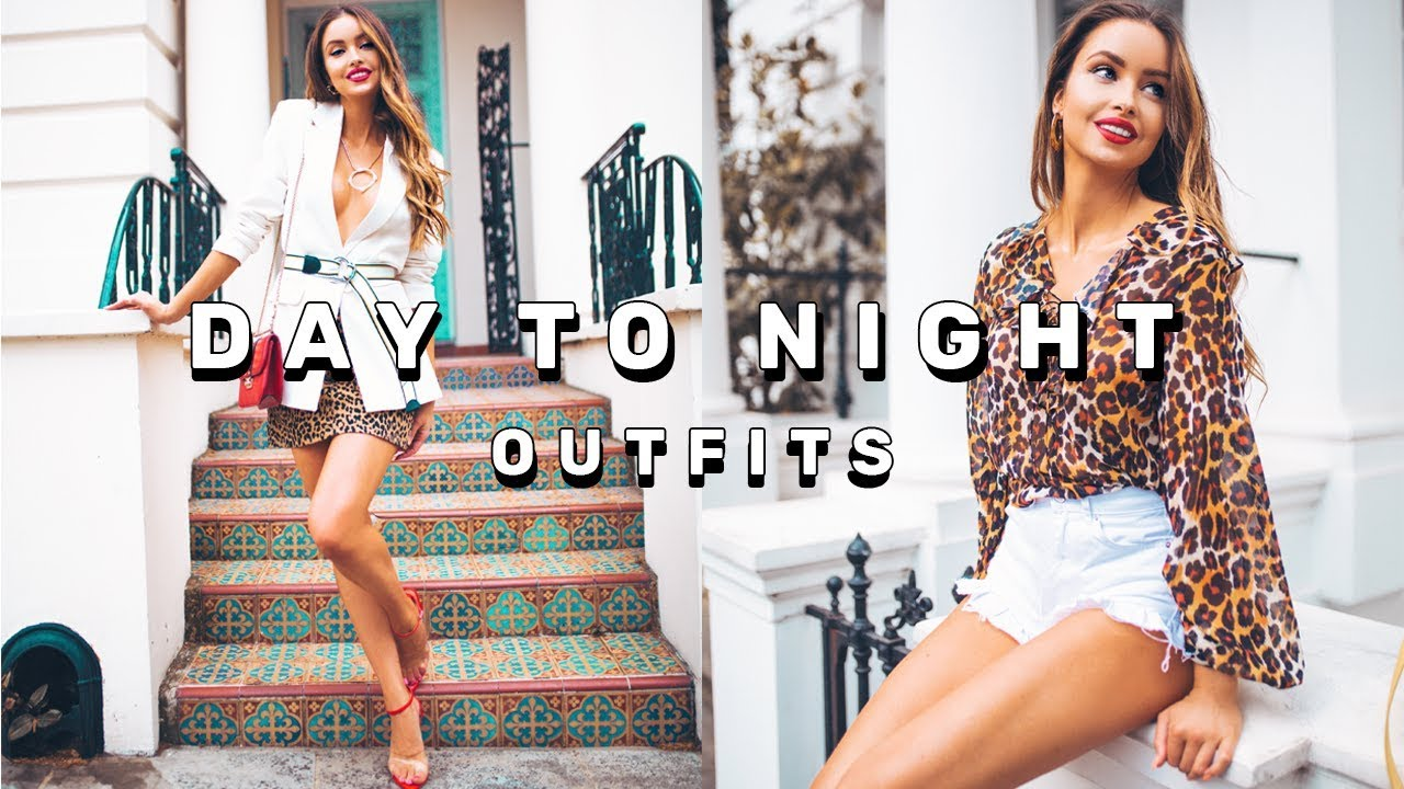 DAY TO NIGHT OUTFITS | SUMMER LOOKBOOK | EMMA MILLER 7