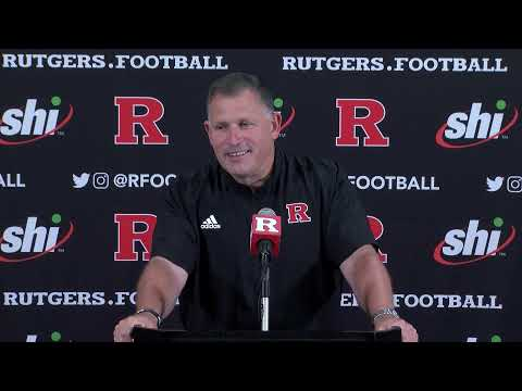 RVision: Greg Schiano Game Week Press Conference: Syracuse