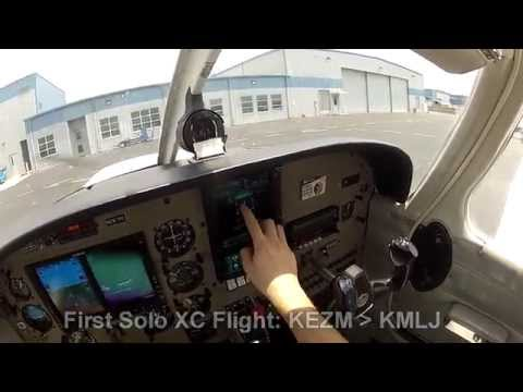 First Solo Cross Country Flight: Piper Warrior III