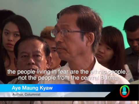 "DVB Debate report: ""The people living in fear are the ethnic people"" (English)"