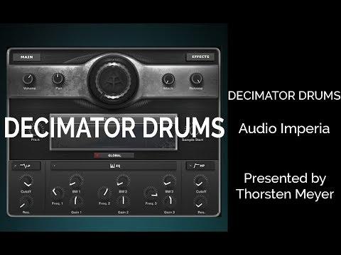 Audio Imperia DECIMATOR DRUMS