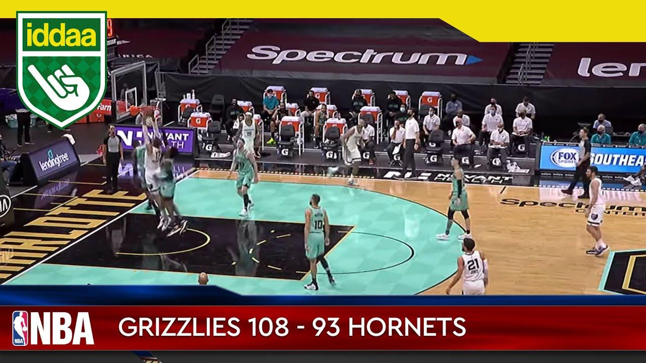 Memphis Grizzlies – Charlotte Hornets Maç Özeti
