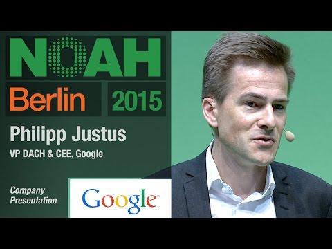 Philipp Justus, Google - NOAH15 Berlin