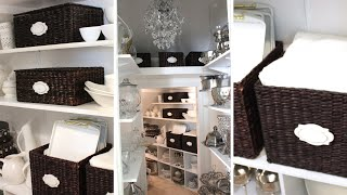 Home Organization: Entertaining Closet Makeover | Collab