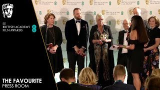 The Favourite | Press Room Interview | EE BAFTA Film Awards 2019