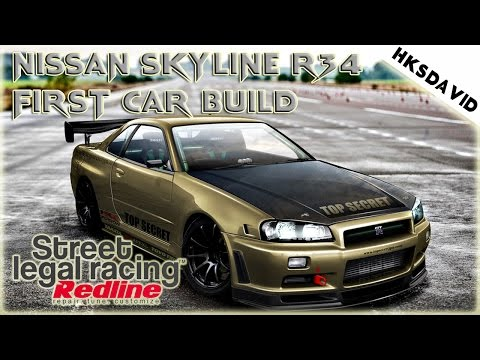 Street Legal Racing Redline Nissan skyline Top secret 2015 magyar gameplay