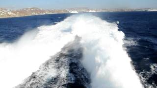 Amazing View from Highspeed 6 catamaran operated by Hellenic Seaways.