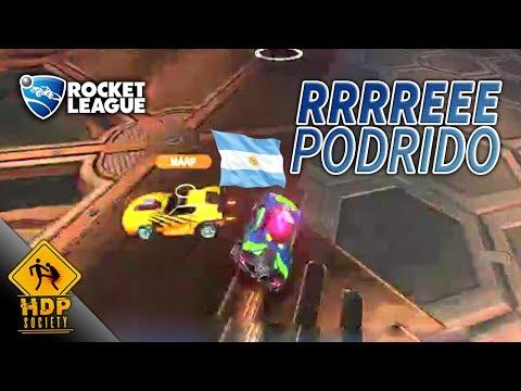 Los Argentinos reeeepodridos loco! - Rocket League [Twitch]