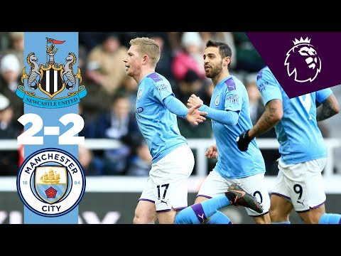 HIGHLIGHTS | NEWCASTLE 2-2 MAN CITY | DE BRUYNE & SHELVEY BELTERS