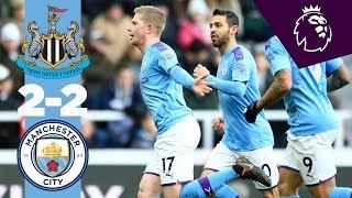 Highlights | Newcastle 2-2 Man City | De Bruyne & Shelvey Belters