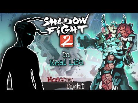 Shadow Fight 2 In Real Life (Underworld Hoaxen) Boss Battle.