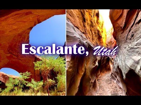 Escalante in Utah: Dry Fork, Coyote Gulch, Jacob Hamblin Arch, Devils Garden