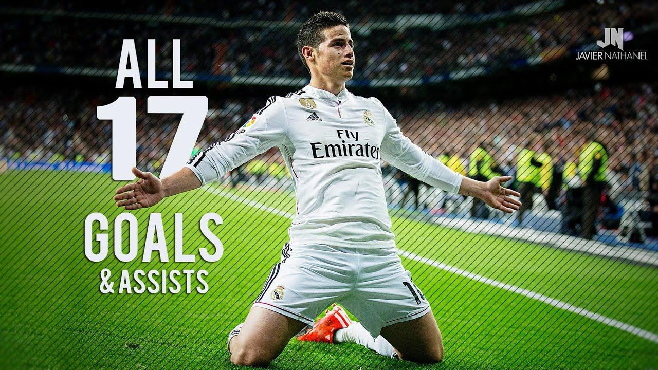 James Rodriguez ○ All Goals & Assists ○ 2014 2015 HD