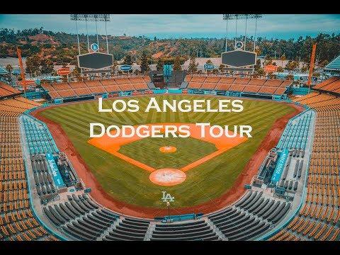 Inside MLB Los Angeles Dodgers Stadium Tour 2017 - 4k
