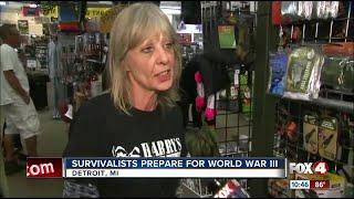 Survivalists prepare for World War III