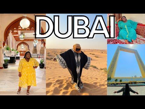 First Time in Dubai Travel Vlog 2021: Burj Khalifa, Desert Safari, Eating Camel Meat!