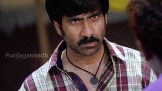 Ravi teja High Voltage Fight and dialogues - Neninthe Movie Scenes - Raviteja, Siya